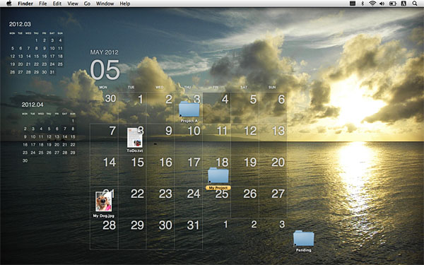 Google Calendar Wallpaper Windows : Desktop calendar plus for mac display your on